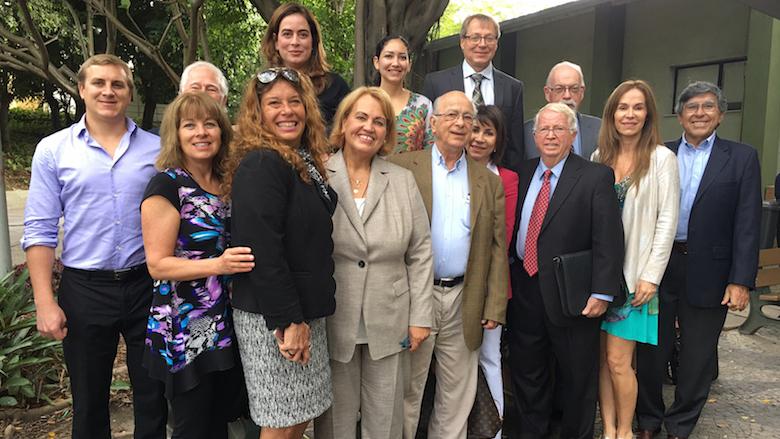 Primeira conferência internacional de mercúrio dental, realizada no Rio de Janeiro