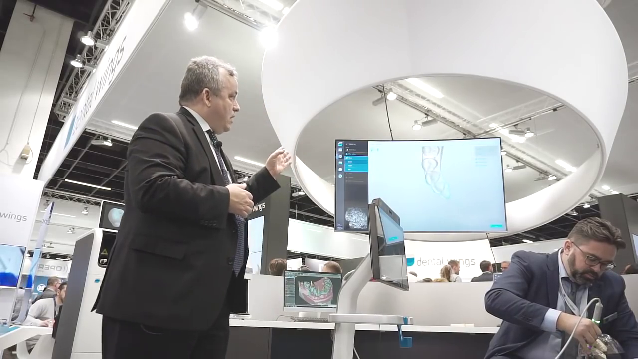IDS 2017 Stage Show – Dental Wings DWOS Chairside Workflow