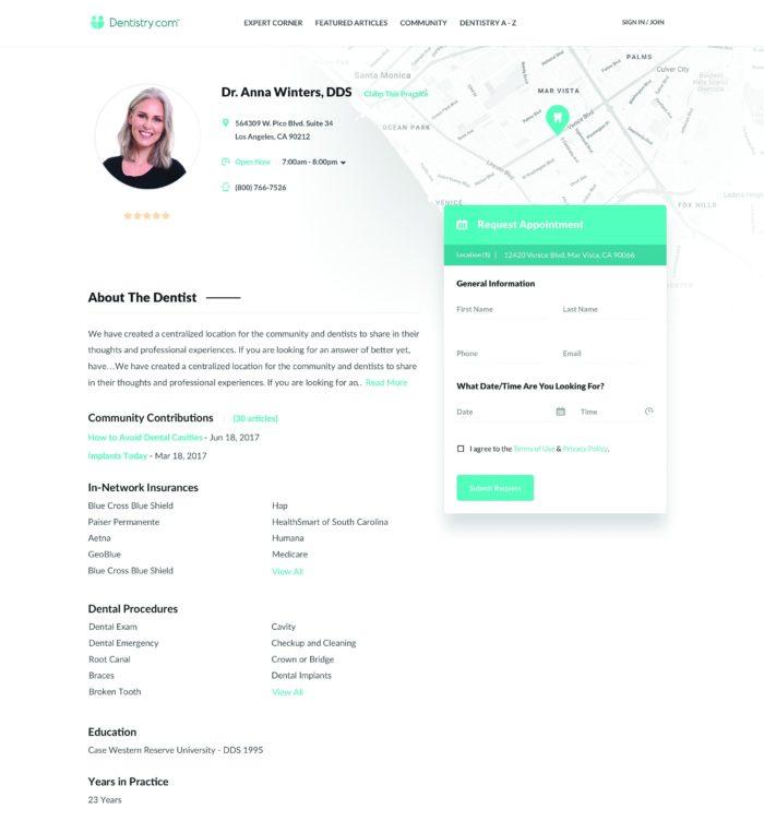 Dentistry.com_Practice_Profile