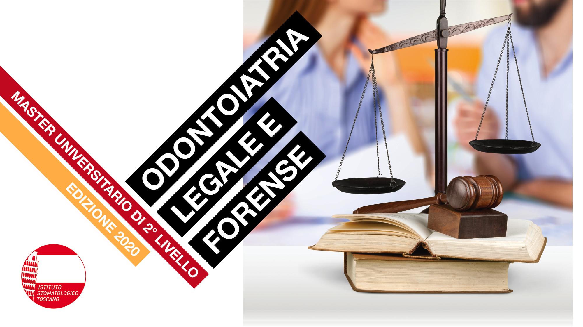 Master 2° livello in odontoiatria legale e forense 2019/2020