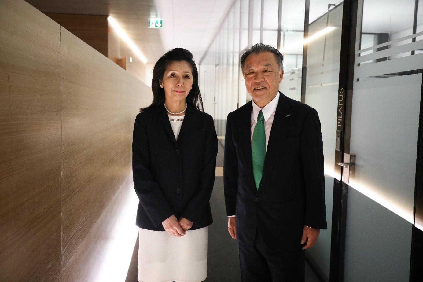 Les lauréats de la première bourse de la Fondation Nakao