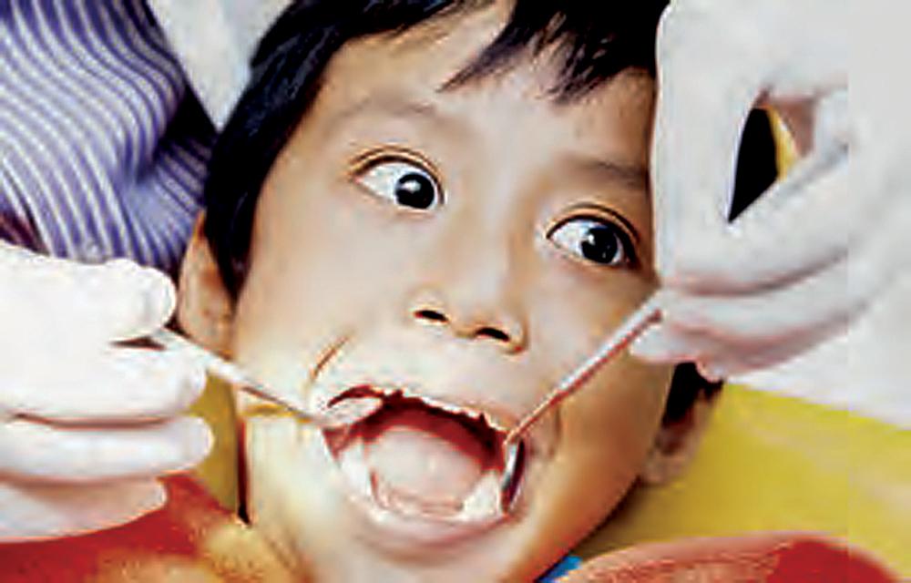 Nedavna študija proučevala strah pred zobozdravnikom pri otrocih