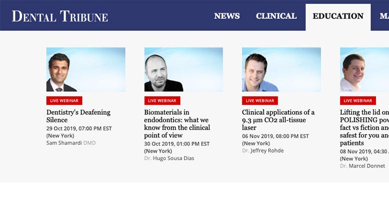 Dental Tribune Webinars – Efteruddannelse når du har tid