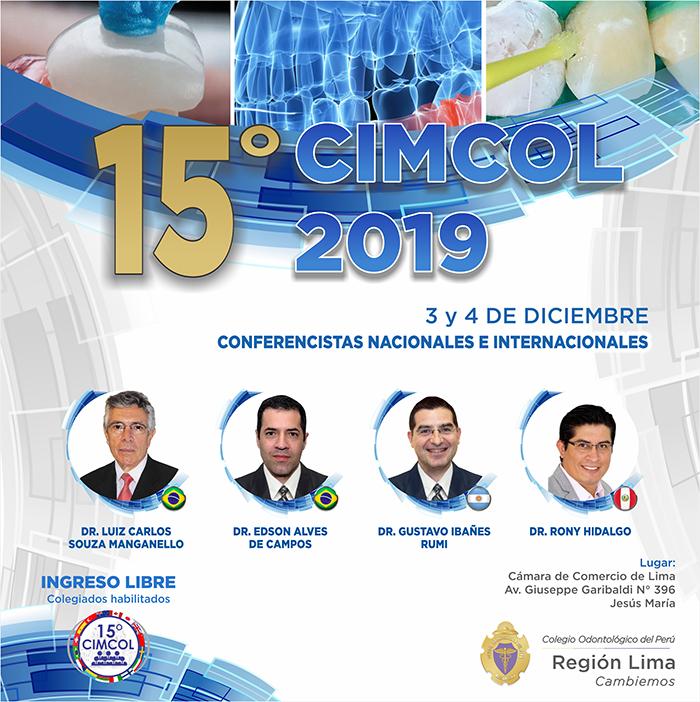 15º CIMCOL 2019