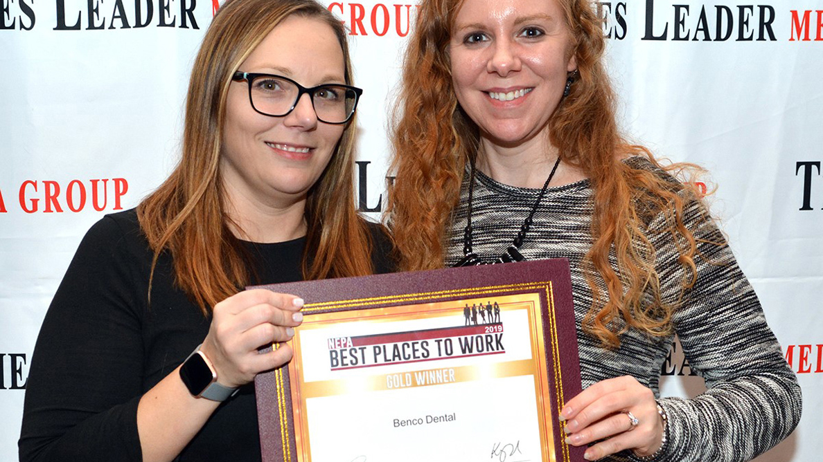 Benco Dental honored as one of Pennsylvania's Best Workplaces