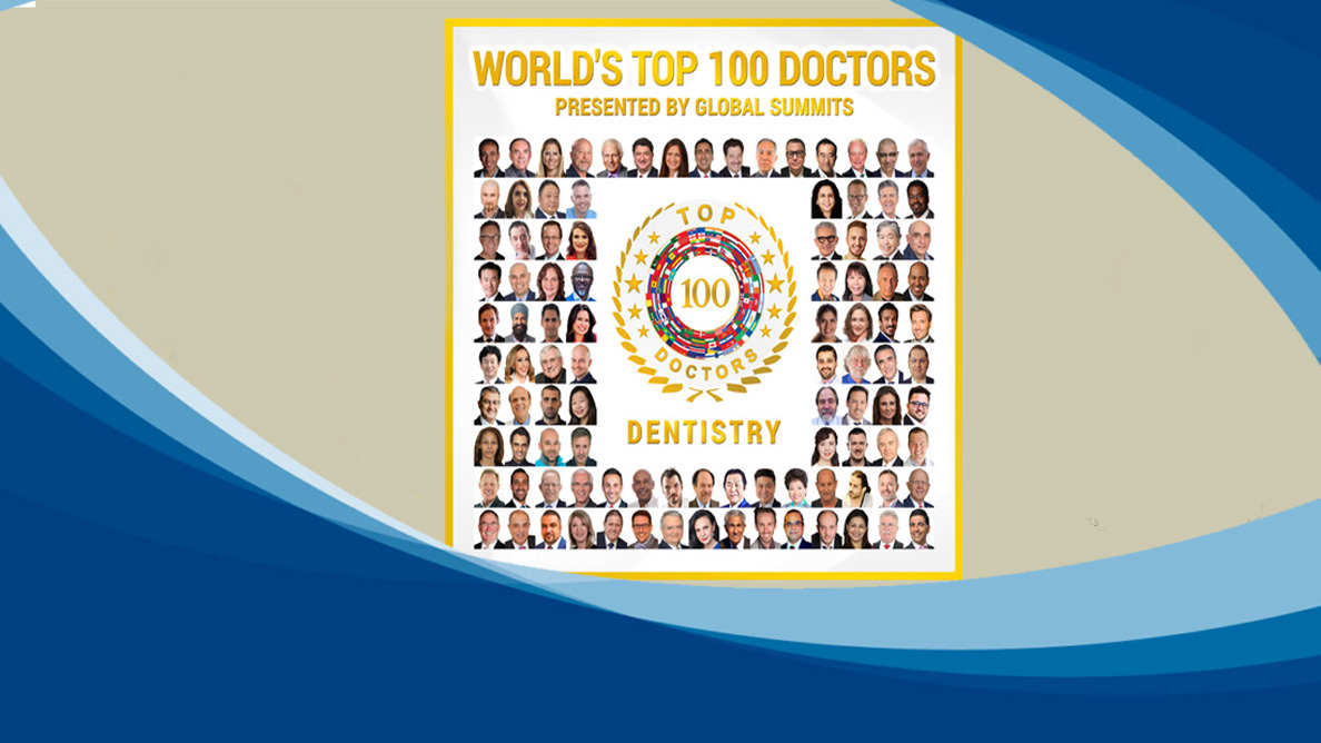 Dr Irfan Recognized Among The 'World's Top 100 Doctor In Dentistry'