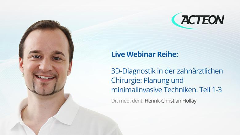 Webinar: So platzieren Sie ein Implantat mit der ACTEON Imaging Suite Software