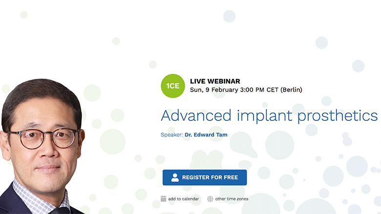 Expert to share what's new in implantology
