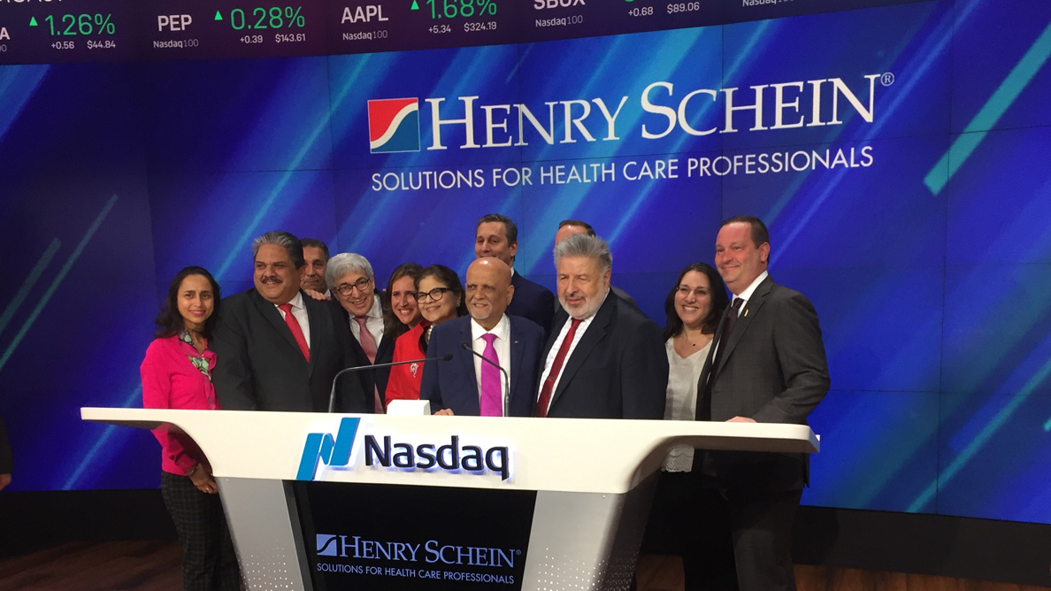 ADA and Henry Schein celebrate Give Kids A Smile at Nasdaq opening