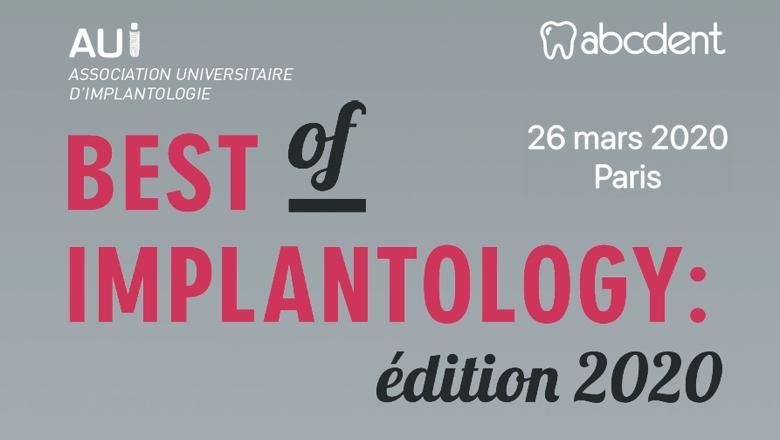 Best of Implantology  2020  : 26 mars PARIS