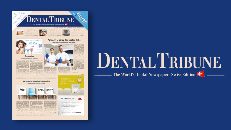 Die <em>Dental Tribune Switzerland</em> mit Fokus Digitale Zahnheilkunde