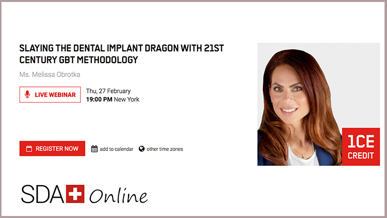 Free webinar brings new insights into implantology