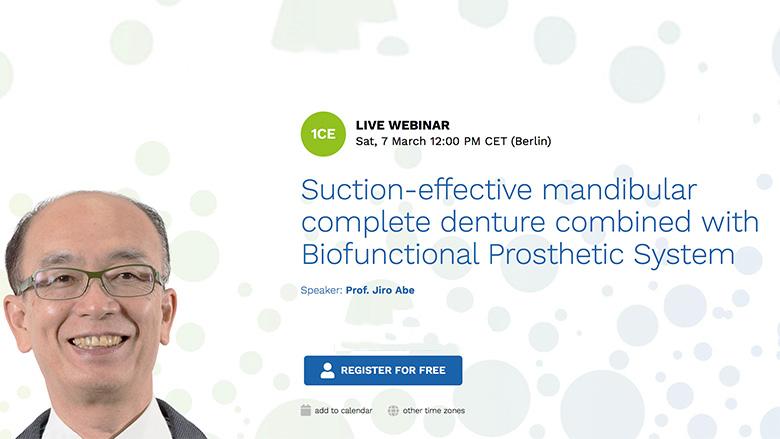 Free webinar highlights new technique in denture fabrication
