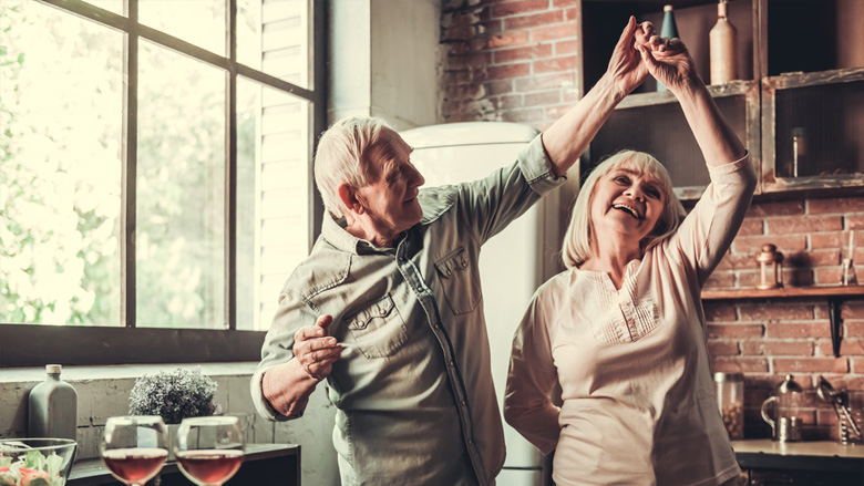 Senioren mit höherer Ausbildung sind gesünder