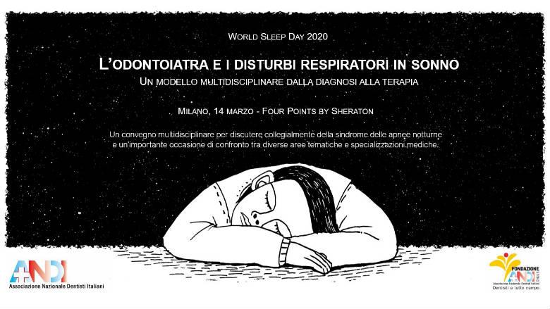 Dodici milioni gli italiani a rischio di apnee notturne