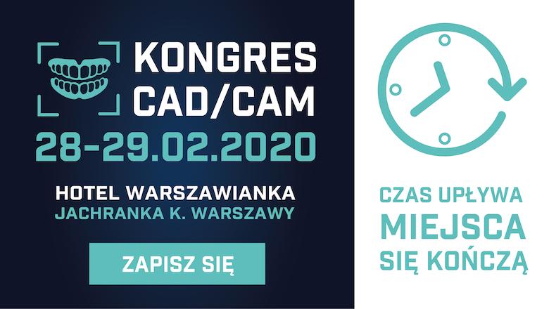 Kongres CAD/CAM 2020 – ostatnie dni zapisów!