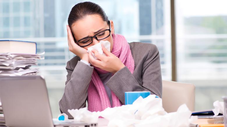 Krank im Job: Muss das sein?