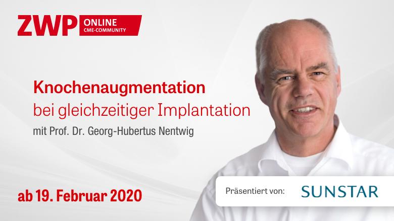 Sunstar OP: Knochenaugmentation bei gleichzeitiger Implantation