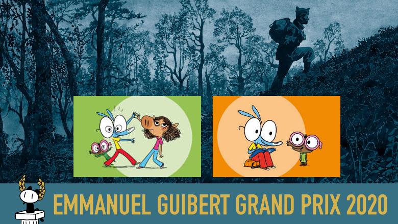 Emmanuel Guibert,  créateur du visuel Ariol de l'AOI, remporte le Grand Prix 2020 Angoulême