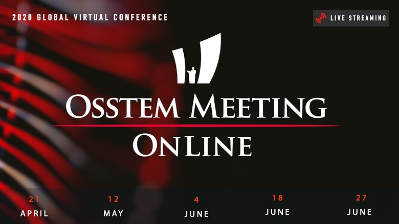 Virtual live conference of solidarity—Osstem Meeting Online drives digital transition