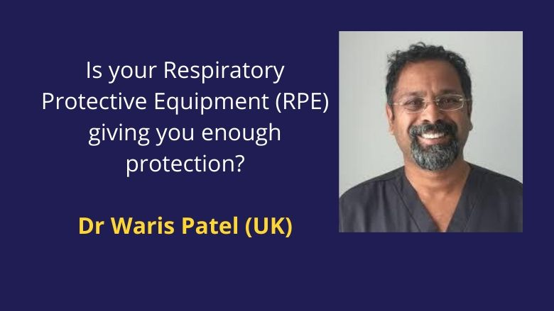Fit (seal) test of your Respiratory Protective Equipment (RPE) decides if you are well protected