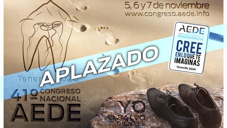 AEDE aplaza el Congreso de Tenerife