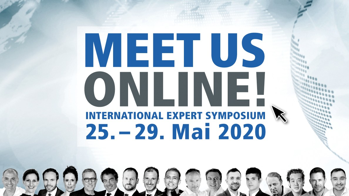 Am Puls der Dentalwelt: International Expert Symposium erstmals als virtuelles Event