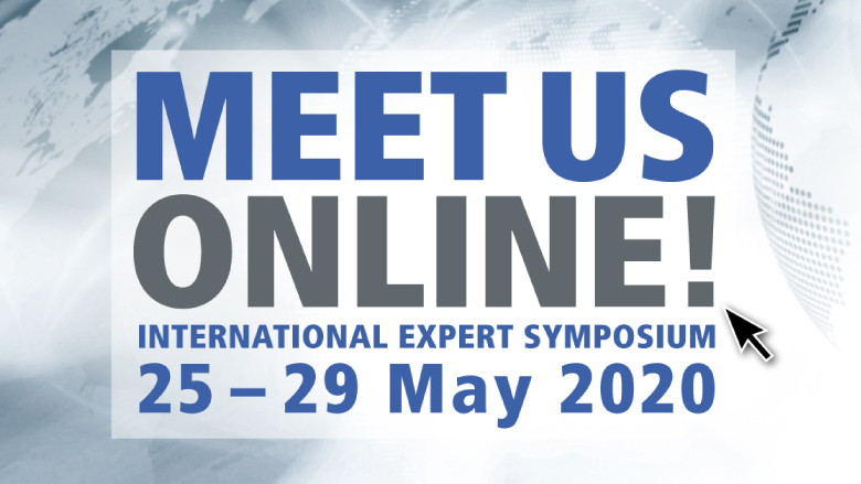 International Expert Symposium to be hosted as an online event at the end of May