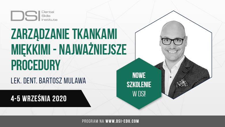 """""""Zarządzanie tkankami miękkimi – najważniejsze procedury"""" – Warszawa, 4-5.09.2020 r."""