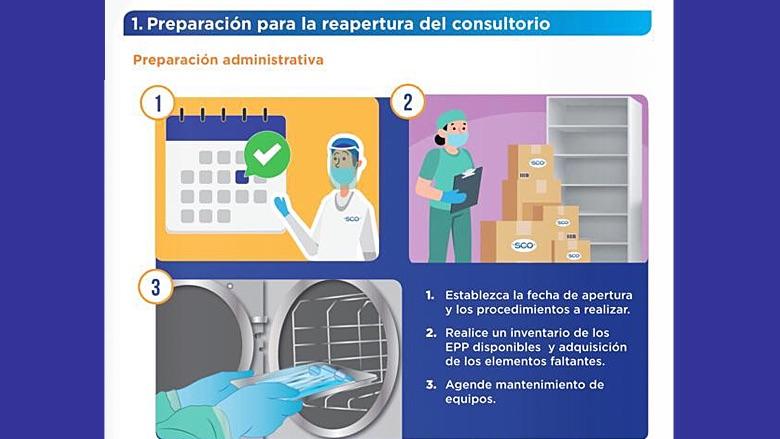 Publican las normas para la reapertura de clínicas dentales