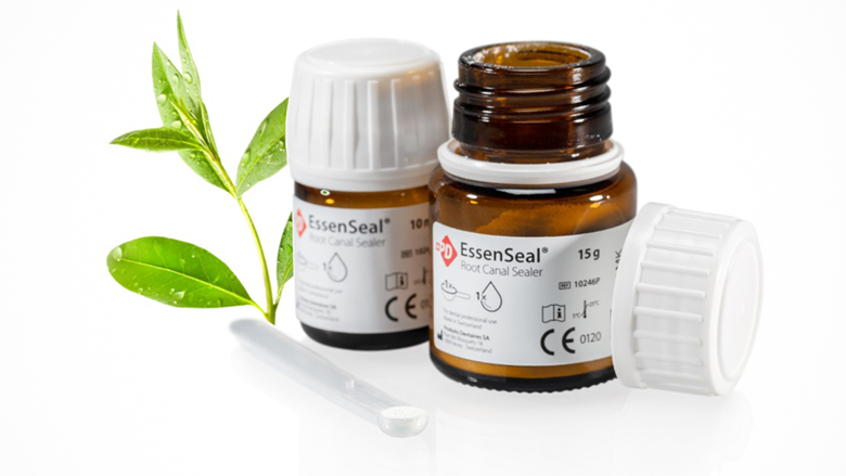 Produits Dentaires SA presents Essenseal its innovative sealer for advanced root canal therapies