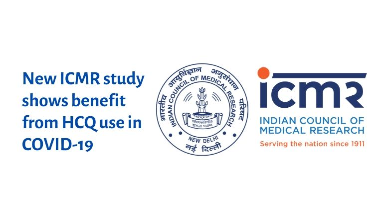 New case control study by ICMR shows Hydroxychloroquine can prevent COVID-19 in healthcare workers