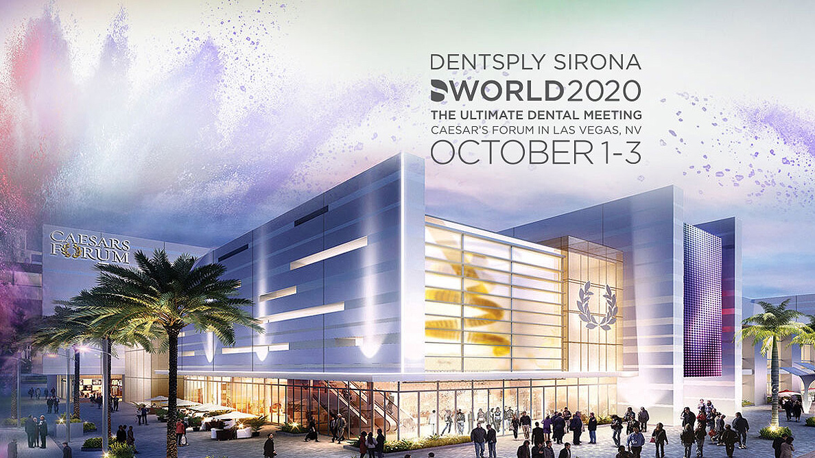 With new safety measures in place, Dentsply Sirona World 2020 is a go for Las Vegas in October