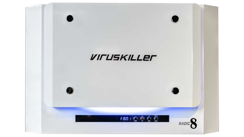 Un esterilizador de aire que neutraliza patógenos