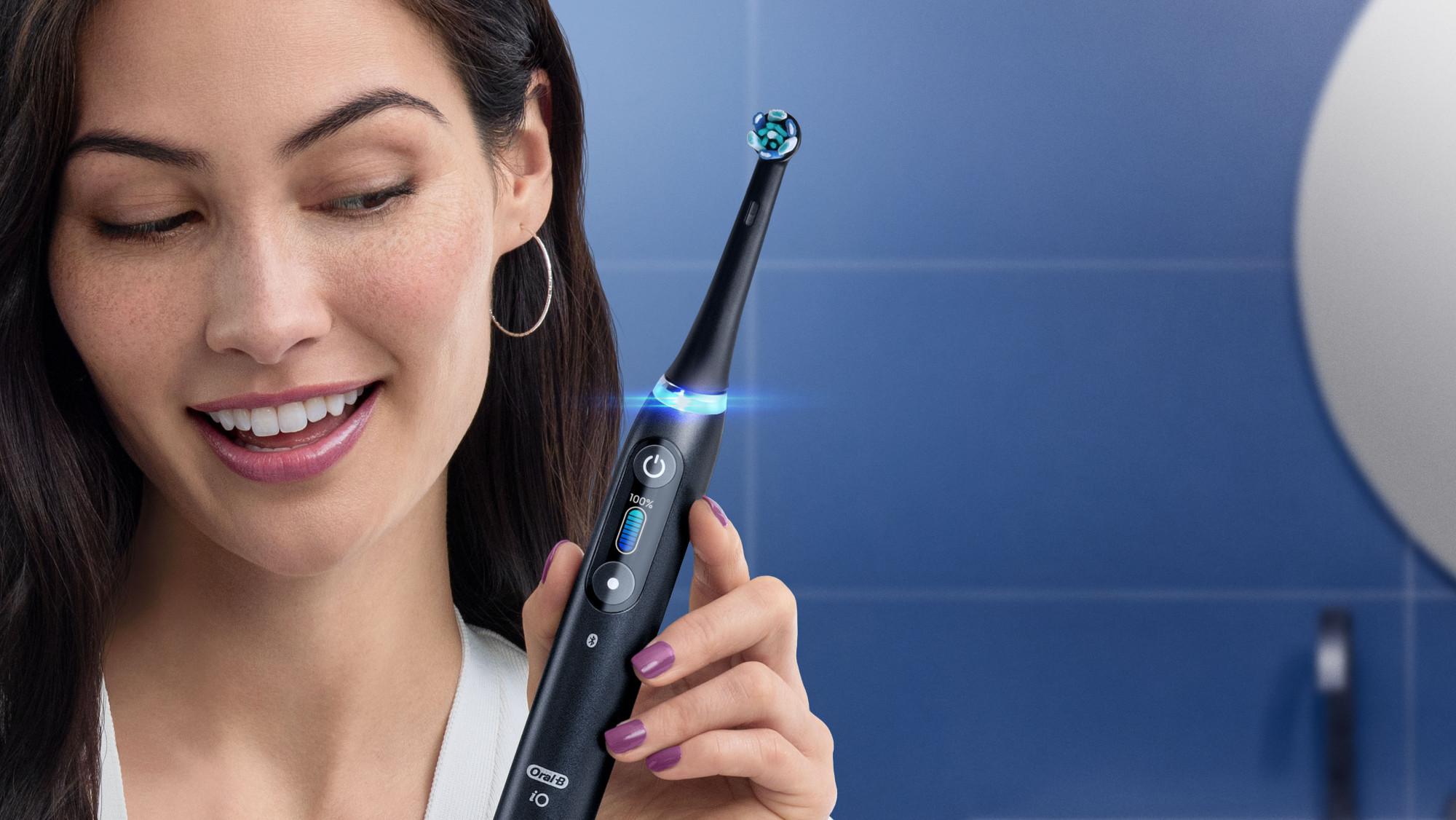 Die neue Oral-B iO motiviert Patienten wie nie zuvor