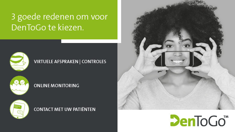 Straumann® DenToGo™: online consultaties met uw patiënten