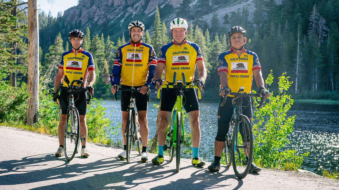 Doctors bike coast to coast to give smiles to kids in need