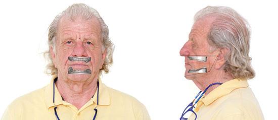 Fig. 10 Visualización de la distancia a ocupar con la restauración dental.