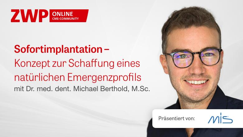 """Einschalten: Live-OP zum Thema """"Sofortimplantation"""""""