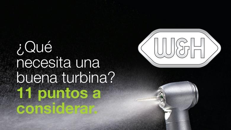 ¿Qué necesita una buena turbina?