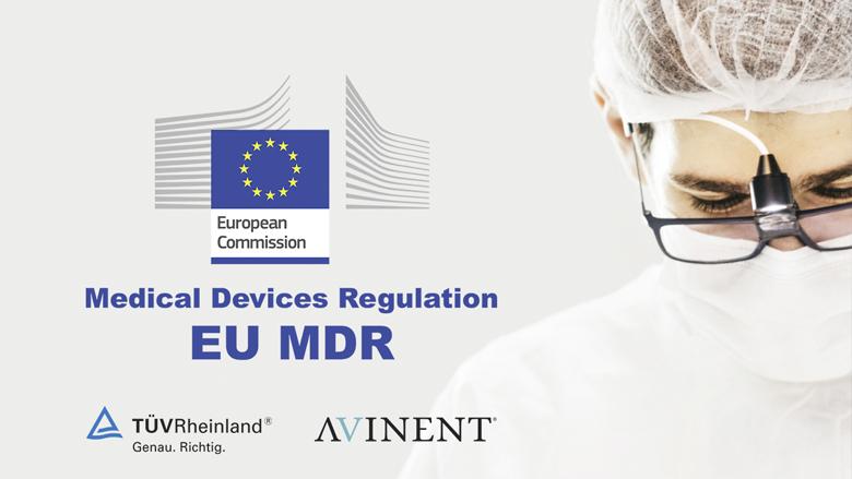 AVINENT, primera empresa certificada a nivel español según la regulación MDR por TÜV Rheinland