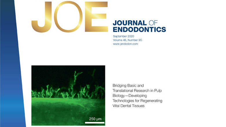 Journal of Endodontics publishes proceedings of pulp biology and regeneration symposium