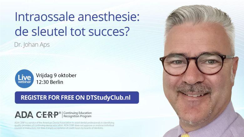 Gratis webinar over intraossale anesthesie