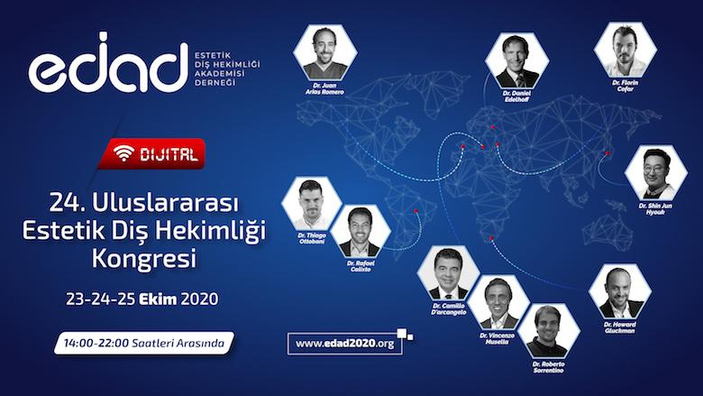 EDAD Kongresi İlk Kez Dijital Ortamda Gerçekleşecek