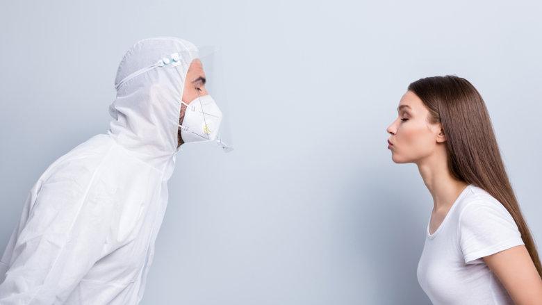 Übertragung des Coronavirus oder von Zika-Erregern beim Küssen?