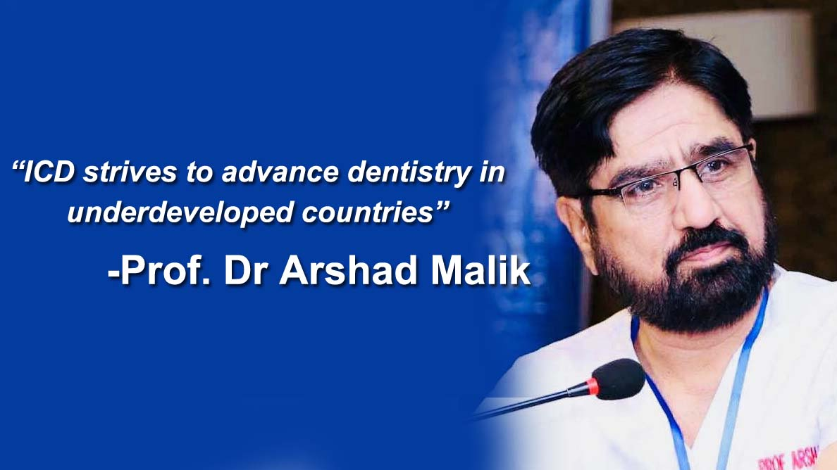 Interview: ICD strives to advance dentistry in underdeveloped countries