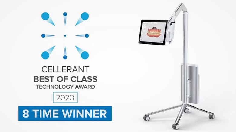 "3Shape wins Cellerant's ""Best of Class"" Technology Award for eighth year in a row"