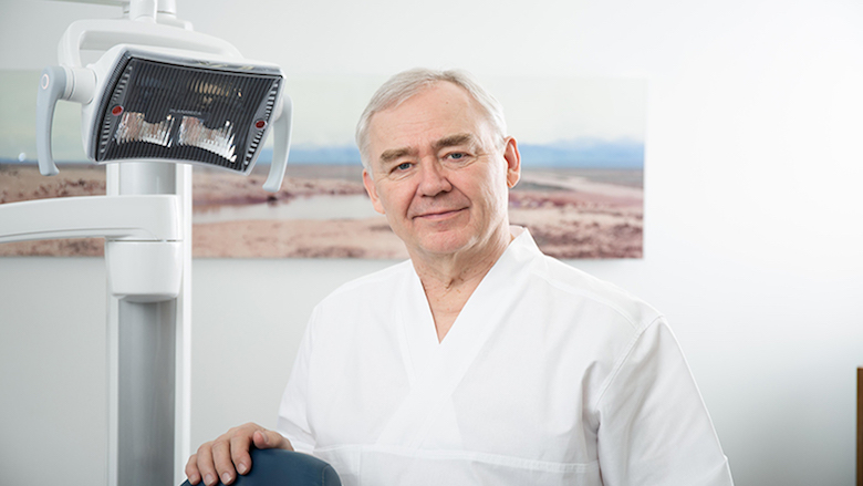 "Dr Seppo Lindroos: ""The sky's the limit in dental technology"""