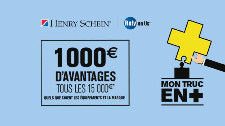 1000€ d'avantages tous les 15000€ achetés