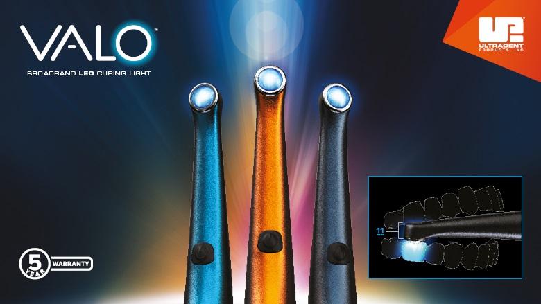 Maak kennis met de bekroonde serie VALO™-ledpolymerisatielampen